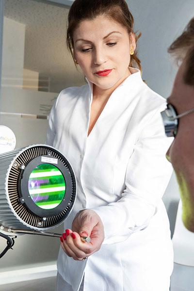 laserbehandliung in der hautpraxis dormagen